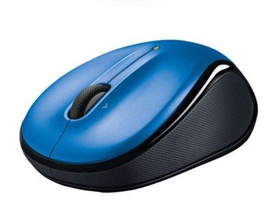【鳥鵬電腦】Logitech 羅技 M325 無線滑鼠 藍 網頁瀏覽專用滾輪 Unifying 超小型接收器