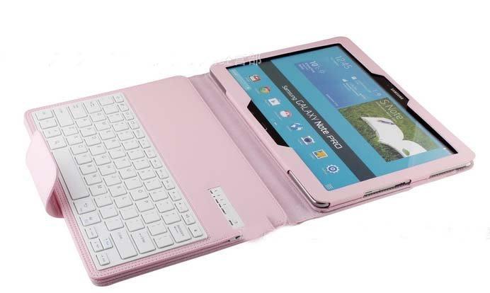 三星平板電腦Samsung galaxy note Pro外接皮套p900無線藍牙鍵盤856
