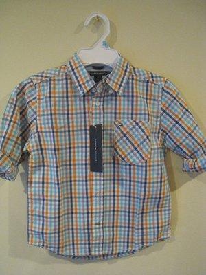 Tommy Hilfiger 男童襯衫 3歲 和 6 歲 尺寸