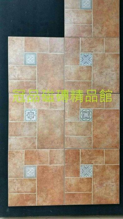 ◎冠品磁磚精品館◎西班牙進品精品 托利多復古磚(四種花隨機) –45X45 CM