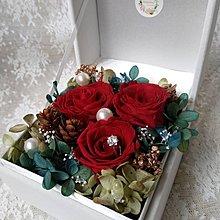 聖誕花盒/求婚花盒 /保鮮花花盒