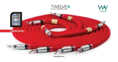 WAYCables TWELVE+ 5N單晶銀 Speaker Cable 歡迎來電洽詢
