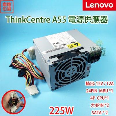 【漾屏屋】含稅 Lenovo 聯想 A55 225W 原廠 電源供應器 12V 12A 24R2584