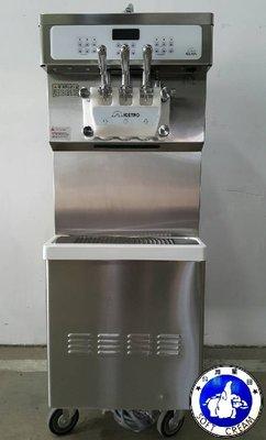 【台灣星田~餐飲設備館】二手韓國進口的三孔落地型霜淇淋機~另有租售/冰淇淋機/製冰機/爆米花機