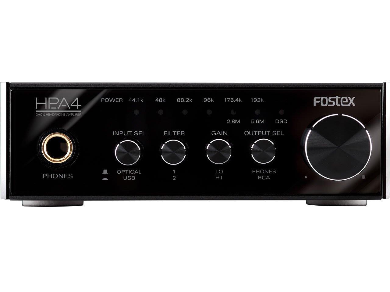日本製 FOSTEX HP-A4 原廠保固一年  DSD對應 DAC耳機擴大機