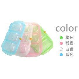 【魔法世界】韓國製 JMGreen 新鮮凍 RRePlus 副食品冷凍記錄儲存分裝盒(3格-100g)(顏色隨機)