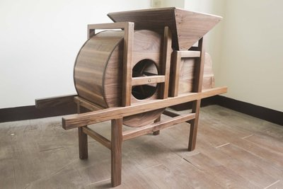 【木羕工坊 Wood Young】-原木實木家具/1:2風鼓機-純手工製作-家飾、風水堪輿(尺寸材質可客製)