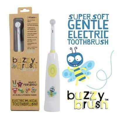 牙齒寶寶 澳洲 Jack n Jill BUZZY BRUSH電動音樂牙刷1入(含1個刷頭/不含電池)