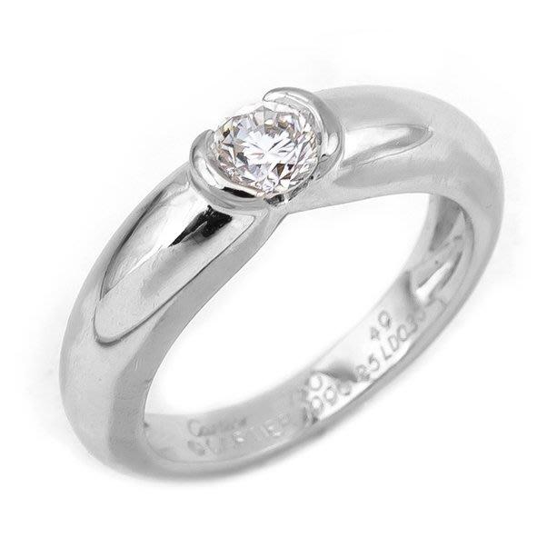 【JHT金宏總珠寶/GIA鑽石專賣】Cartier戒指/材質:18K(CA0001)