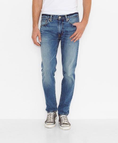 【紐約范特西】 現貨 Levis 511-1099 Slim Fit Jeans Marin  局部刷白 窄版 牛仔褲