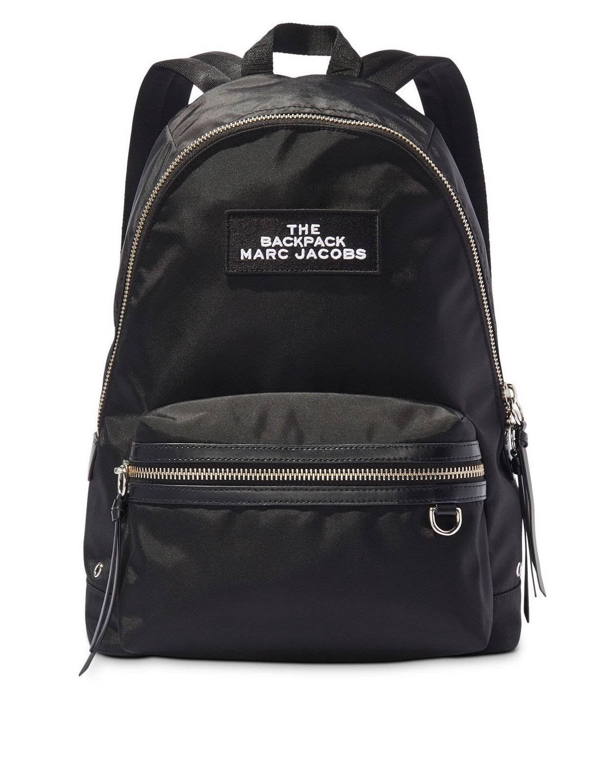 Coco 小舖 MARC JACOBS Large Nylon Backpack 黑色尼龍後背包