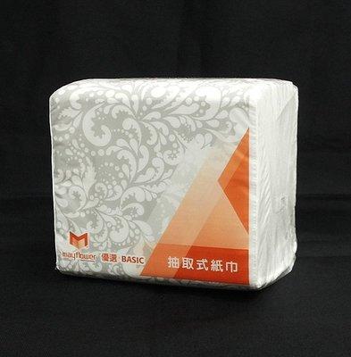 90包/箱【優選促銷】五月花600張小抽衛生紙面紙☆免運費