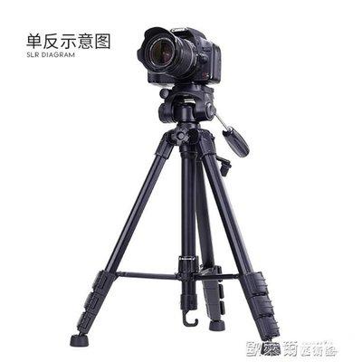三腳架 佳能三腳架單反便攜80D700D750D800D70D200D760D600D相機支架77D MKS