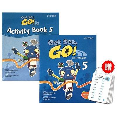 收納用品 華研原版 牛津幼兒英語啟蒙教材 Get Set Go 5級別 學生用書練習冊 英文原版 3-6歲幼兒園小班TPR教學@16257