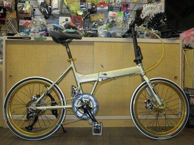 【愛爾蘭自行車】IRLAND EVO 20吋 451輪組 27速 碟煞 鋁合金 shimano 摺疊車 冠鑫自行車