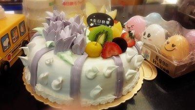 ❤ 歡迎自取 ❥ 雪屋麵包坊 ❥ 藝術款式 ❥ 芋香情懷 ❥ 六吋生日蛋糕