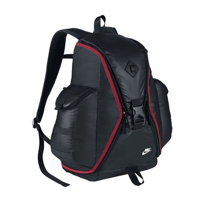 S.G NIKE CHEYENNE RESPONDER 運動 後背包 BA5236-011 黑紅色 全開式
