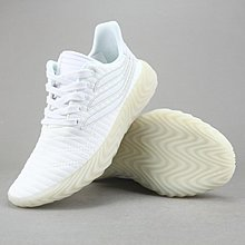 D-BOX  Adidas Originals Sobakov 白色 休閒 三葉草 膠底