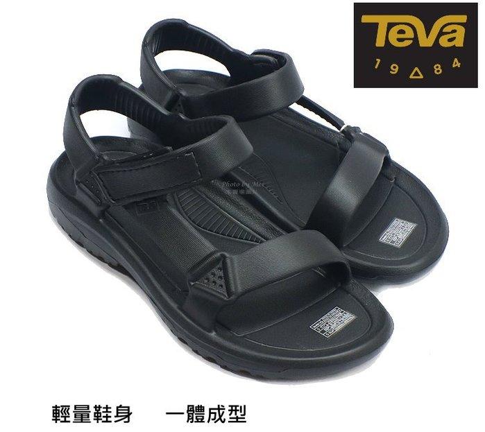 美國TEVA  兒童款運動休閒涼鞋 ( TV1102483CBLK  黑)