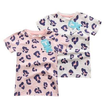 【Mr. Soar】 E263 夏季新款 歐美style童裝女童短袖T恤 現貨
