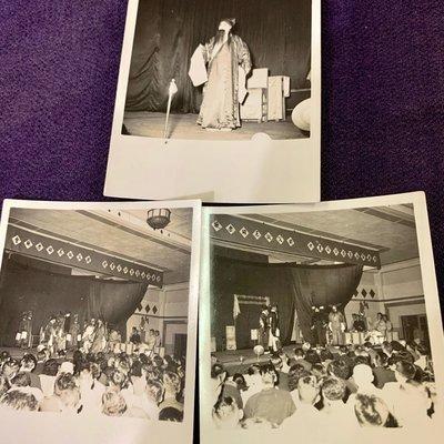㊣台灣意象*旗艦店㊣3張60多年前中油公司國劇平據名伶公演慶祝國父誕辰210506