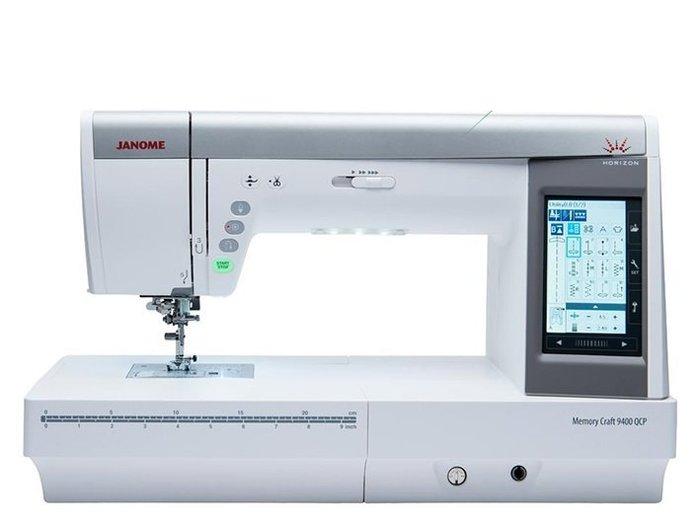 【優質服務品質保證】車樂美 JANOME 電腦縫紉機 9400QCP 全新公司貨 可議價『請看關於我,來電享有勁爆價』