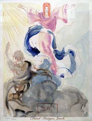 ((天堂鳥)) 薩爾瓦多.達利限量版版畫500之352 #384(附證書)