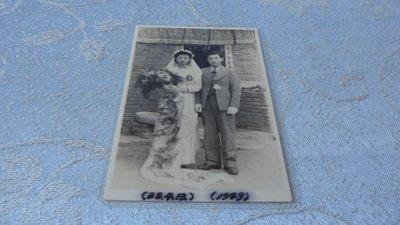 藍色小館10-1--------38年.早期黑白結婚照