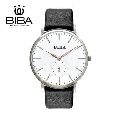 [時間達人] 法國 BIBA 碧寶錶 永恆光影系列 藍寶石玻璃 石英錶 B771S302W 高雄市
