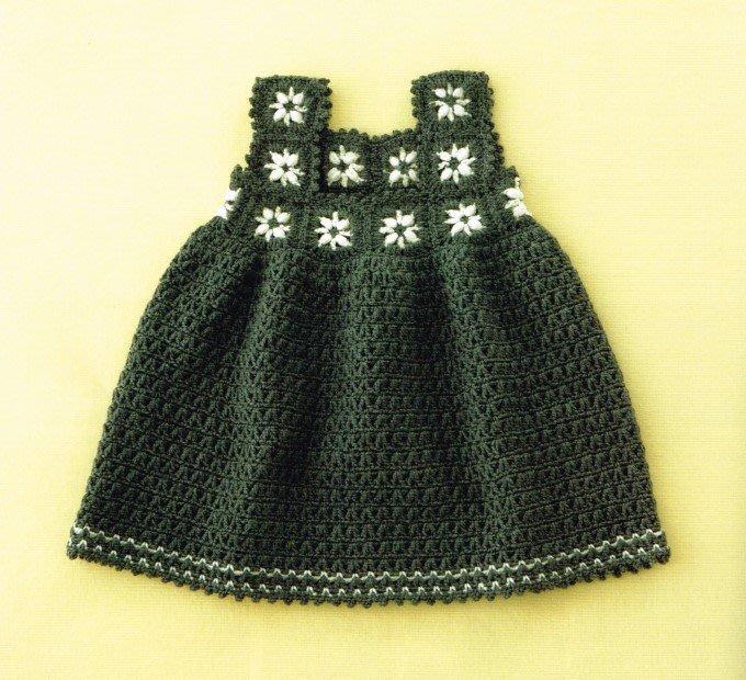鉤針編織baby毛線背心裙材料包~多色任選 !手工藝材料、編織工具、編織書、進口毛線☆彩暄手工坊☆