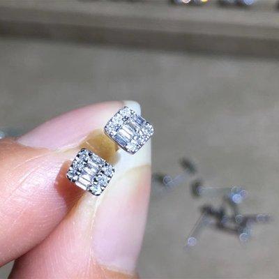 Y1029590389專用下標處,18K金鑽石耳環