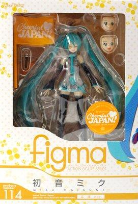 日本正版 figma 初音未來 Cheerful JAPAN! 應援 可動 模型 公仔 日本代購