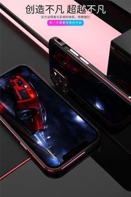 【現貨】ANCASE iPhone12 mini 5.4 吋 送鋼化玻璃 纖維背膜 金屬邊框手機殼保護套
