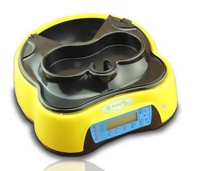 【自動餵食喂水器-C300-D29cm*H13cm】寵物自動餵食器喂水器  4個槽(每槽可放5-250g左右-79013