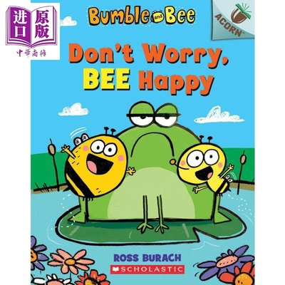 Bumble and Bee Don't Worry Bee Happy學樂橡樹種子大黃蜂與小蜜蜂