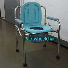 全新鋁合金坐便椅 沐浴椅 沖涼椅 wheelchair 電動輪椅 摺疊輪椅 pilotwheelchair