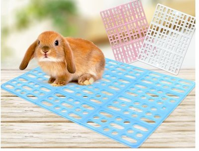 =寵喵百貨= 兔子腳墊板 寵物籠腳墊 寵物籠底板 兔用健康踏板 兔籠專用安全踏板 健康踏墊 兔用踏墊 寵物腳踏墊