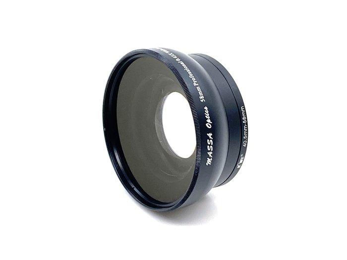 促銷MASSA 廣角鏡頭附加鏡58mm 0.45x 廣角鏡 近攝鏡 Macro多層膜M3 M5 M100 M10