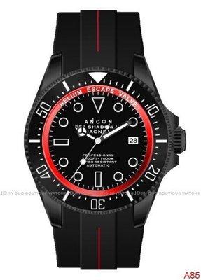 金鐸精品~A85 ANCON SEA305 SHADOW III 43.5mm 自動上鍊男用腕錶 全新特價品