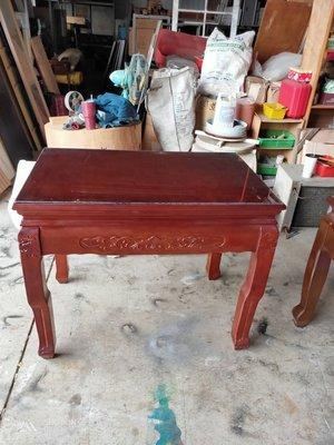 大高雄冠均二手家具批發---實木神明桌...