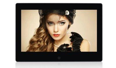 數位電子相框 10.1 吋 (16;9) LED高清面板 RMVB/USB/SD** 展示場廣告機專用**窄邊框架設計