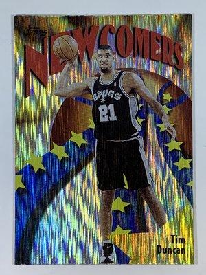 1998-99 Topps Season`s Best New Comers SB26 Tim Duncan Spurs