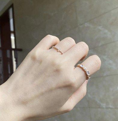正品保證 台灣出貨 TIFFANY & Co.蒂芙尼流線型戒指 小號十字架鉆戒 925純銀鑲嵌  碼數5678