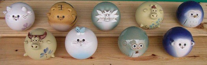 不倒翁 動物陶瓷 擺飾 飾品 藝品 造型 藝術