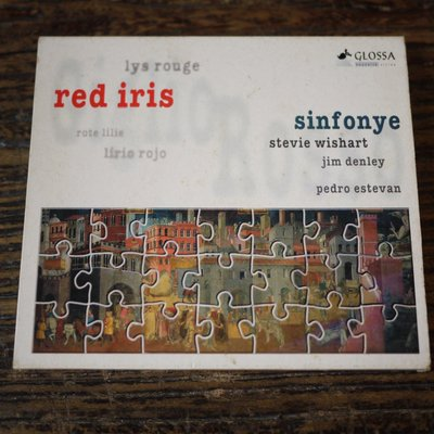 【午後書房】RED IRIS│SINFONYE [GLOSSA]  (寄)160827-62 C5