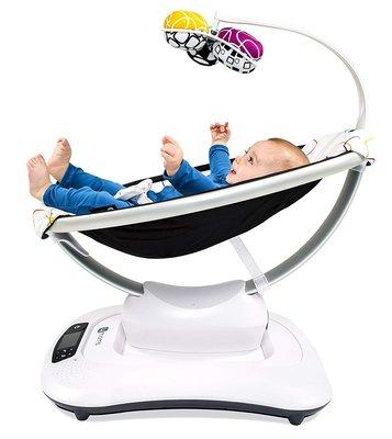 搖籃美國進口4moms嬰兒搖搖椅安撫椅哄娃哄睡神器新生兒電動搖椅搖籃好好先生 台北市