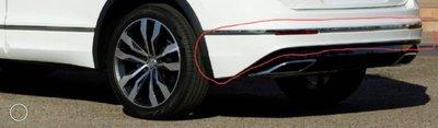 VW 2016年~2020年 TIGUAN R LINR 380 後下巴素材 原廠件