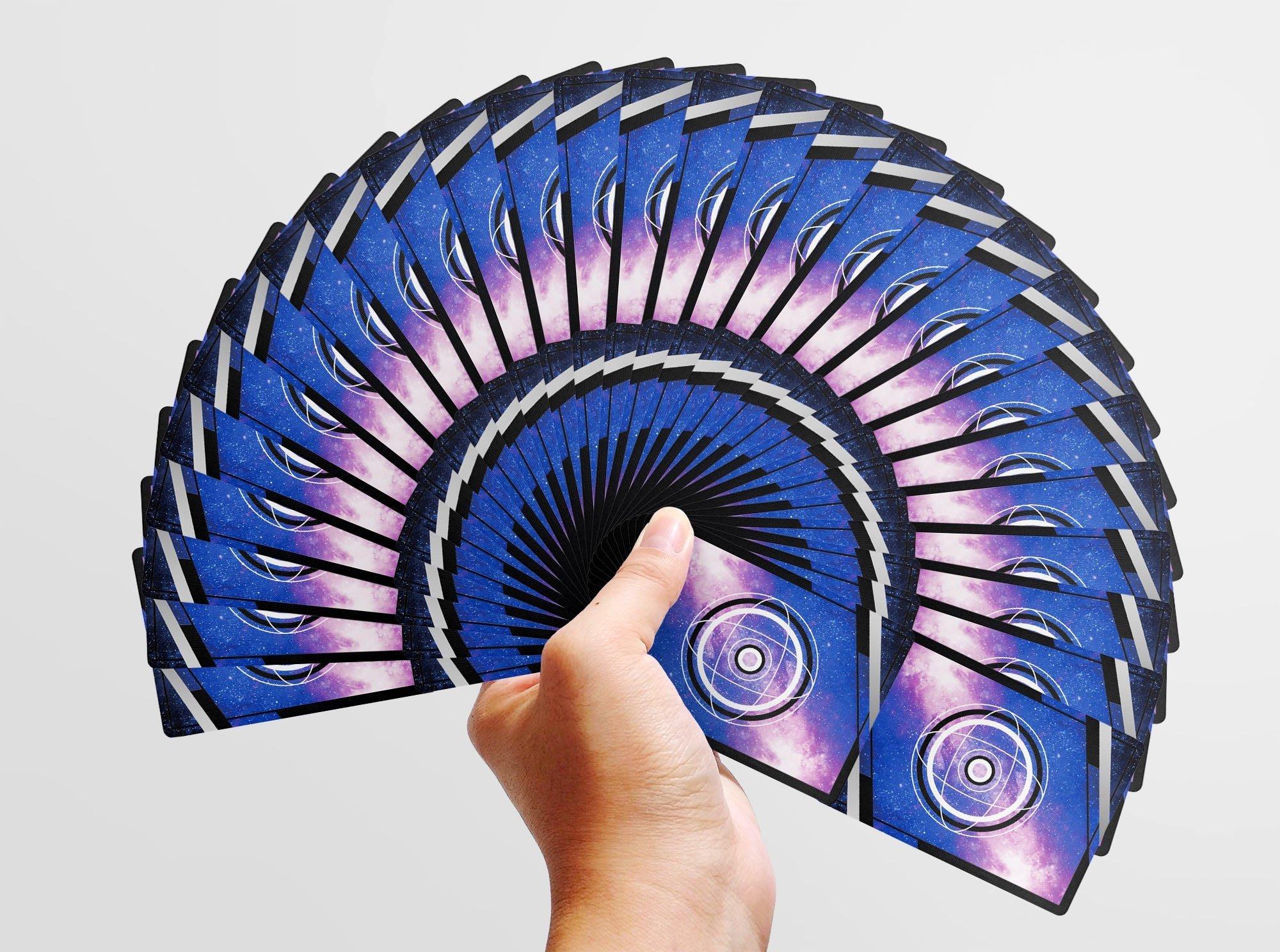 【天天魔法】【S1340】正宗原廠~花切系列~Galaxy playing card(宇宙銀河星空)(限量版)