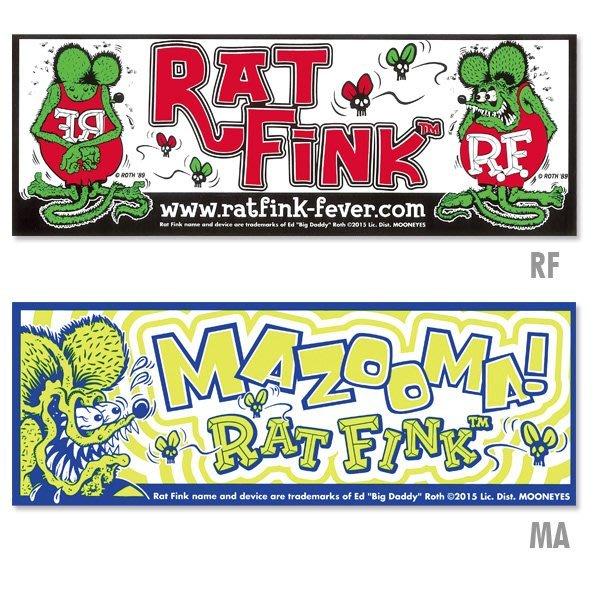 (I LOVE樂多)Rat Fink Bumper Decal 老鼠芬克 保險桿貼 共兩種樣式供您選擇