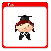 女畢業生造型隨身碟16GB - 畢業禮物 送禮推薦 學生禮物 客製化禮物 小禮物